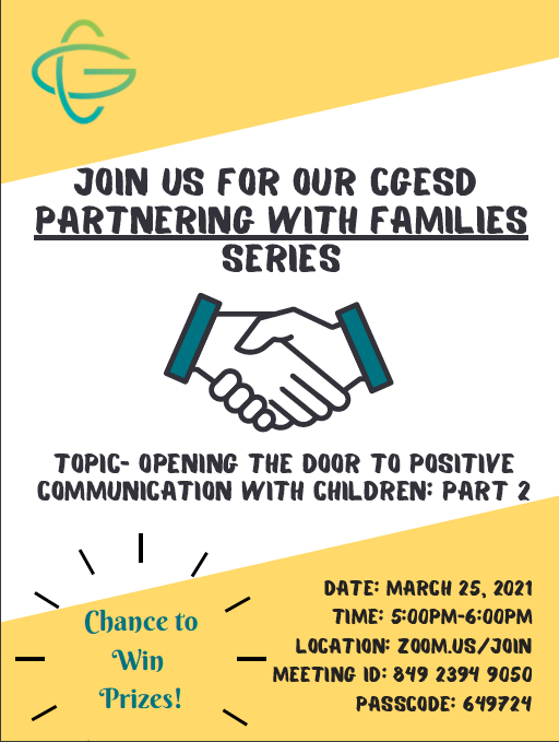Partnering With Families Series