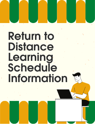 return to distance learning info
